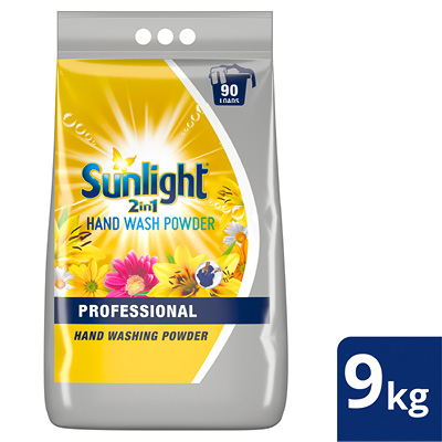 Unilever Professional Sunlight 2-in-1 Hand Washing Powder - Sunlight 2-in-1 Hand Washing Powder delivers a deep clean and sensational fragrance, while protecting gentle garments.