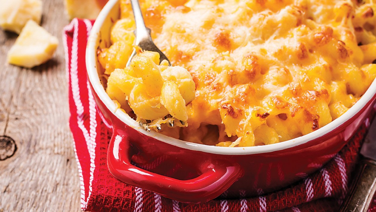 Cheesy Chicken Mac and Cheese
