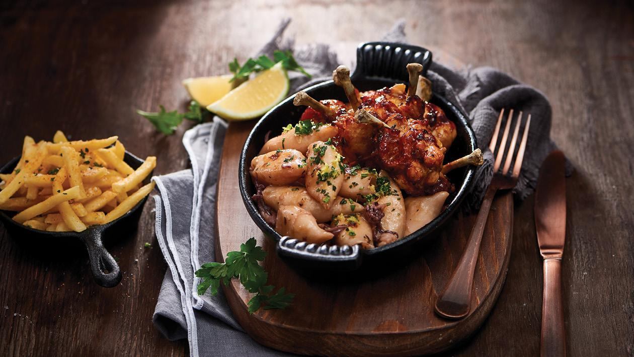 Chicken & Calamari Combo Snack Platter