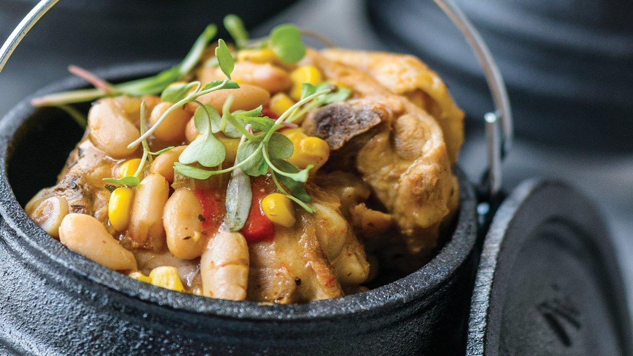 Chicken Thyme & Corn Casserole