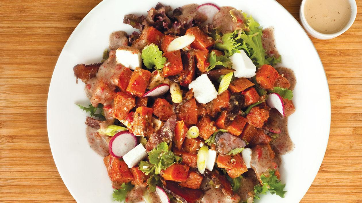 Chilli, Butternut, Feta and Biltong Salad