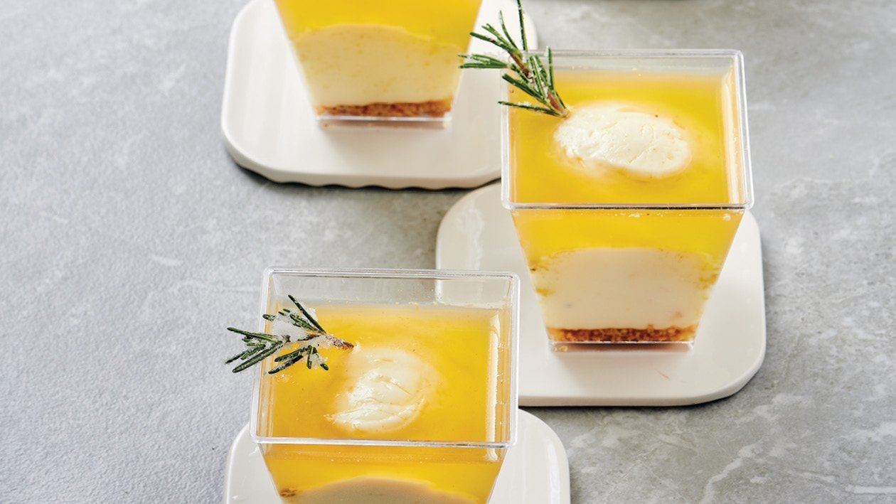 Eat, Drink and Be Rosemary Cheesecake