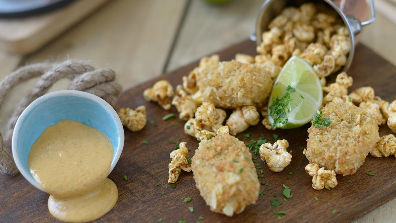 Fish Crunch, Popcorn, lemon & Paprika Splash