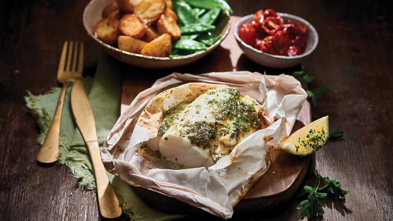 Lemon & Herb Linefish 'En Papillote