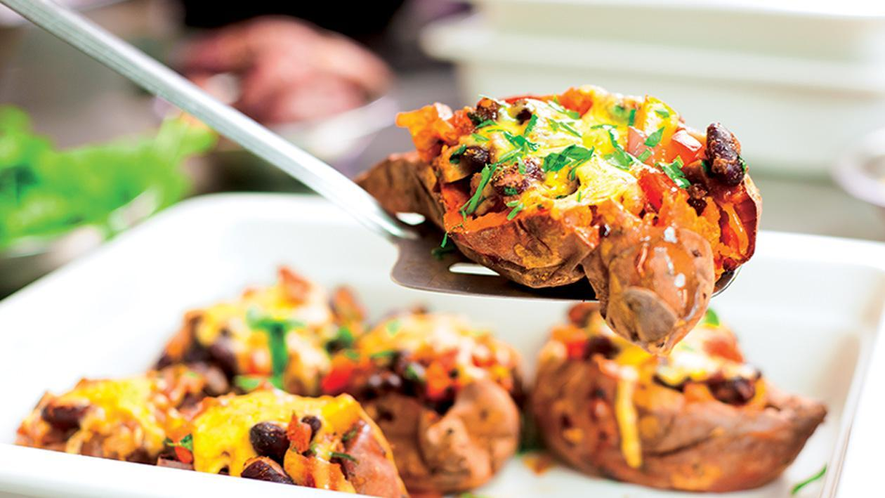 Loaded Sweet Potato Fiesta