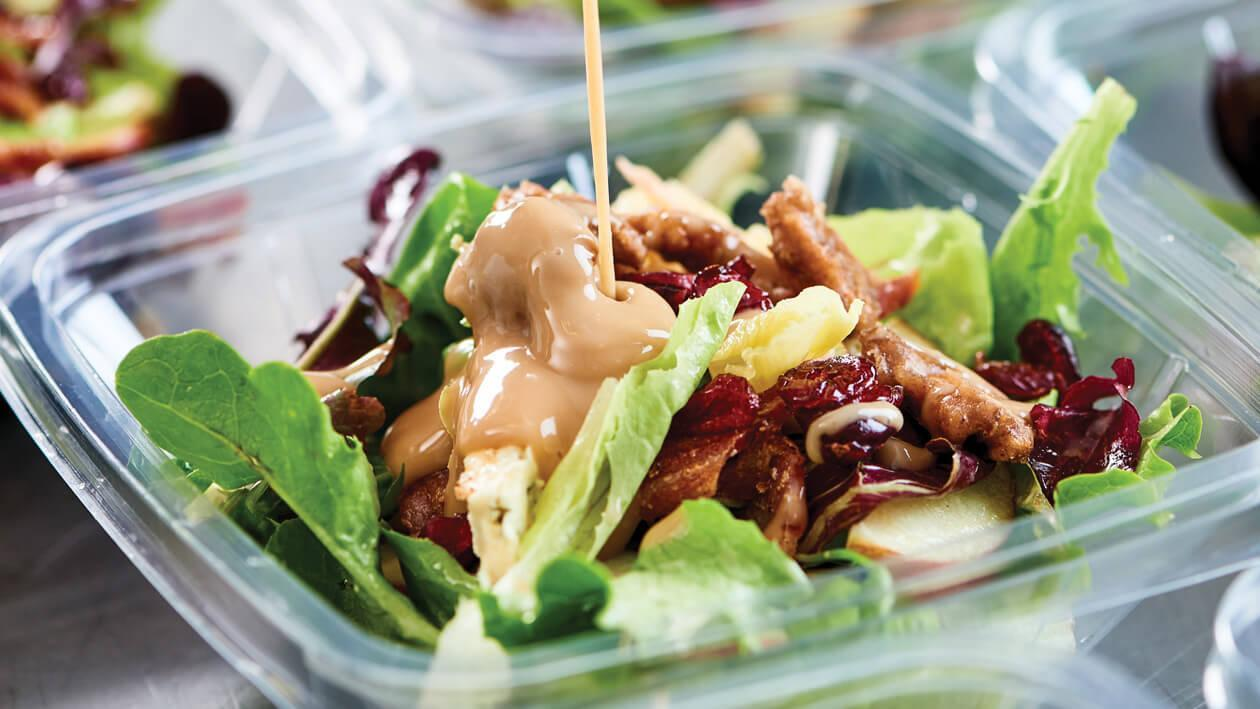 Mellow Candied Pecan Salad