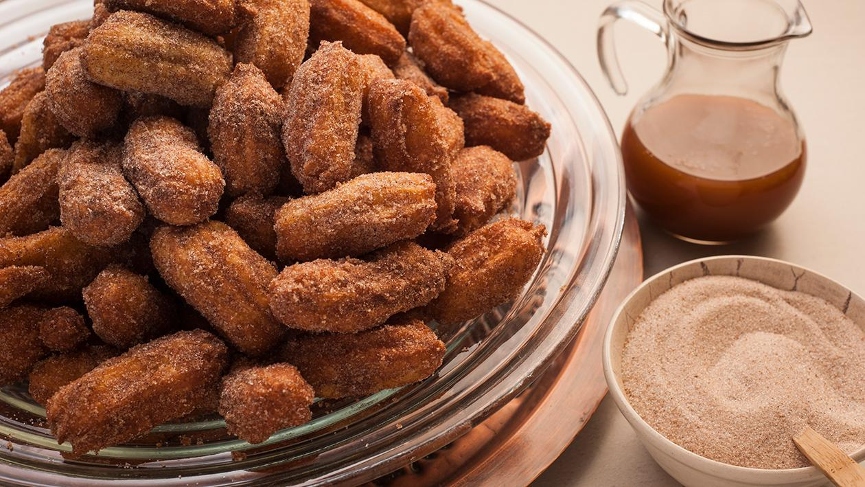 Mexican Churros with Cinnamon Sugar