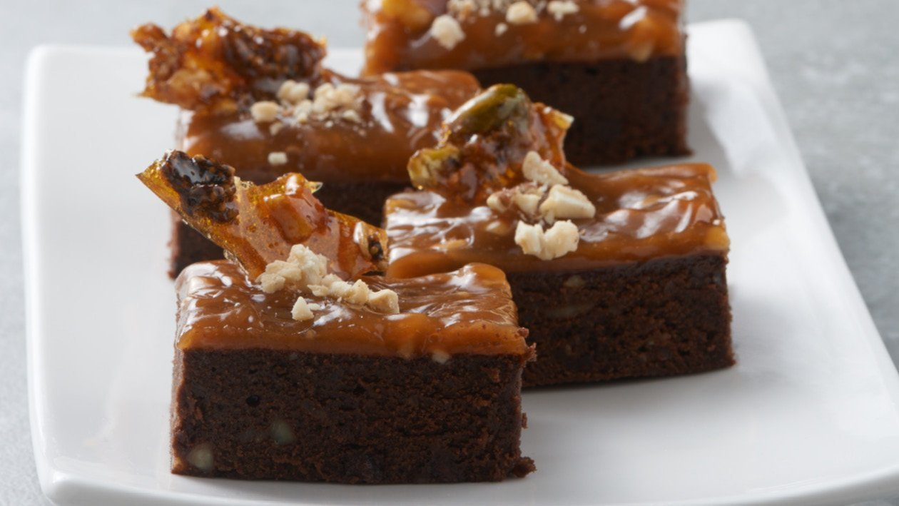 Nuts For Toffee Choco Brownie