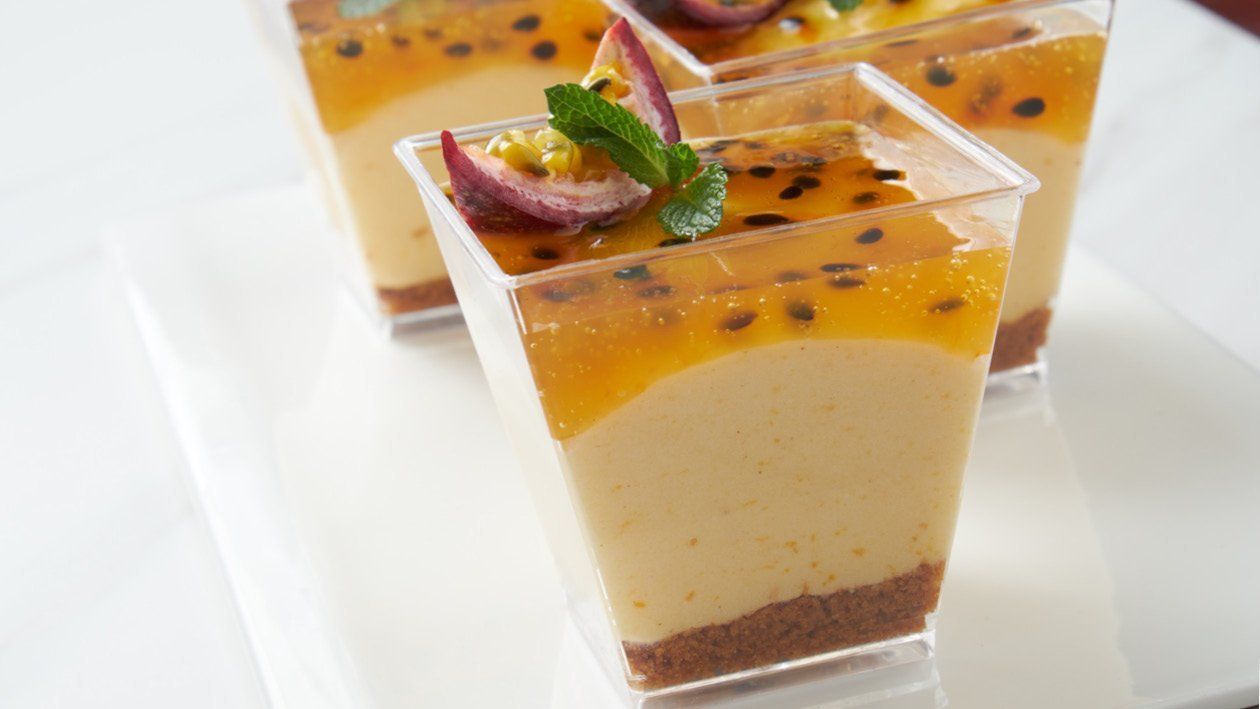 Passion(fruit) for Butternut Cheesecake