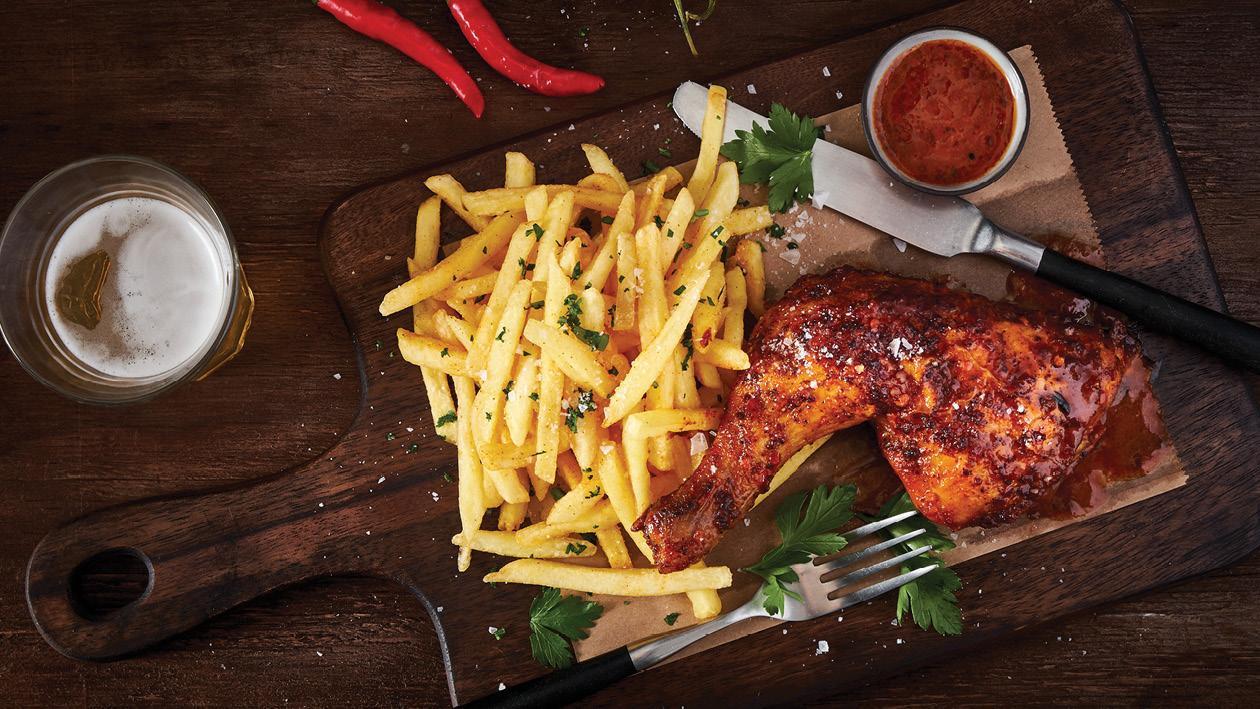 Roasted Peri-Peri Quarter Chicken