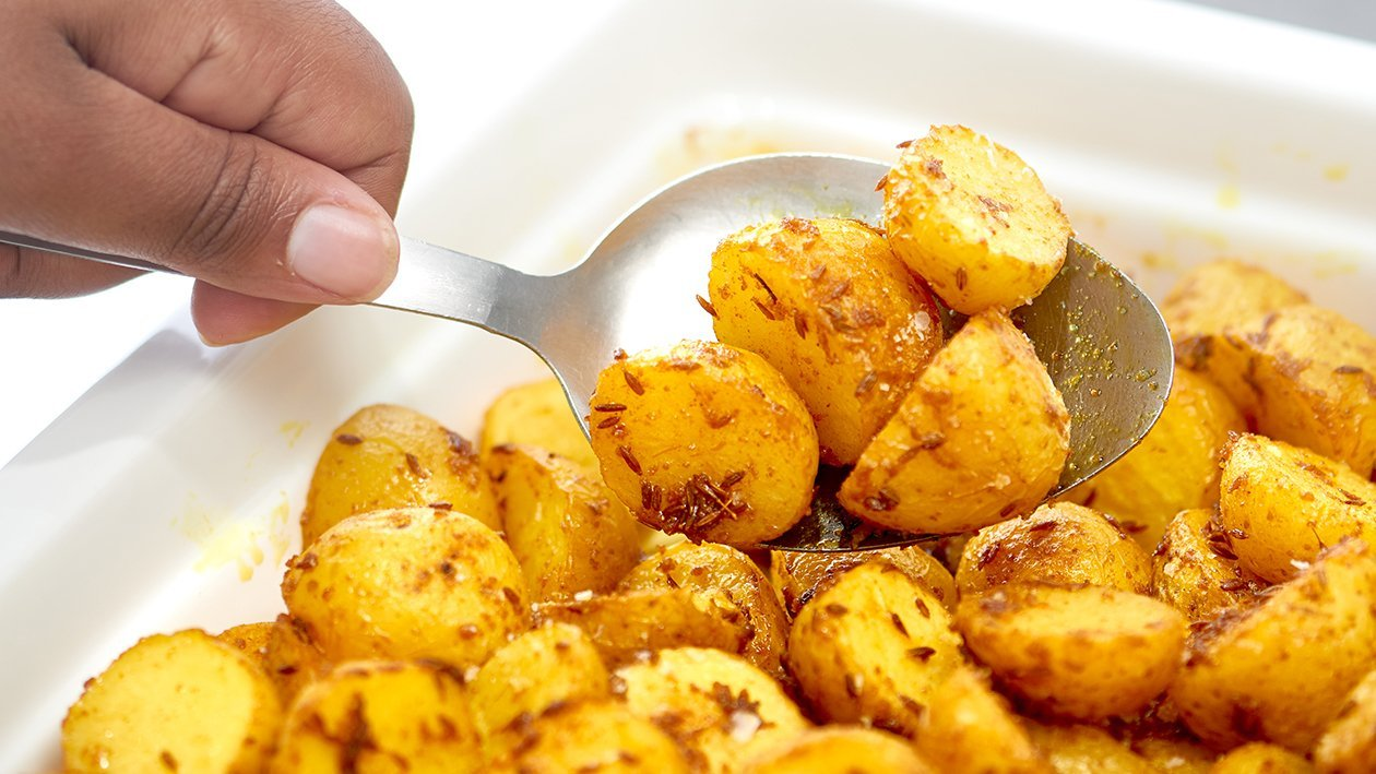 Roasted Yellow Cumin Potatoes