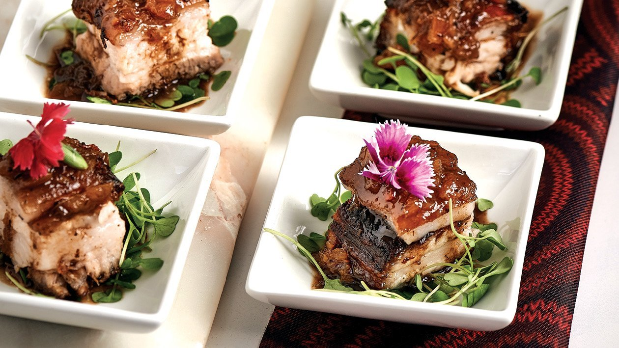 Rooibos Pork Belly