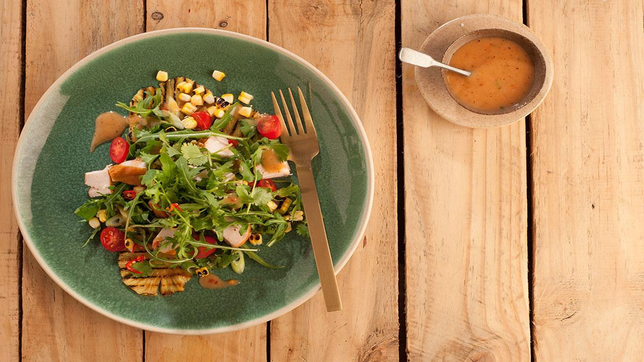 Smoked  Chicken Salad with cajun dressing