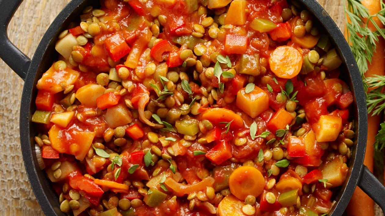 Spiced Up Vegetable Curry