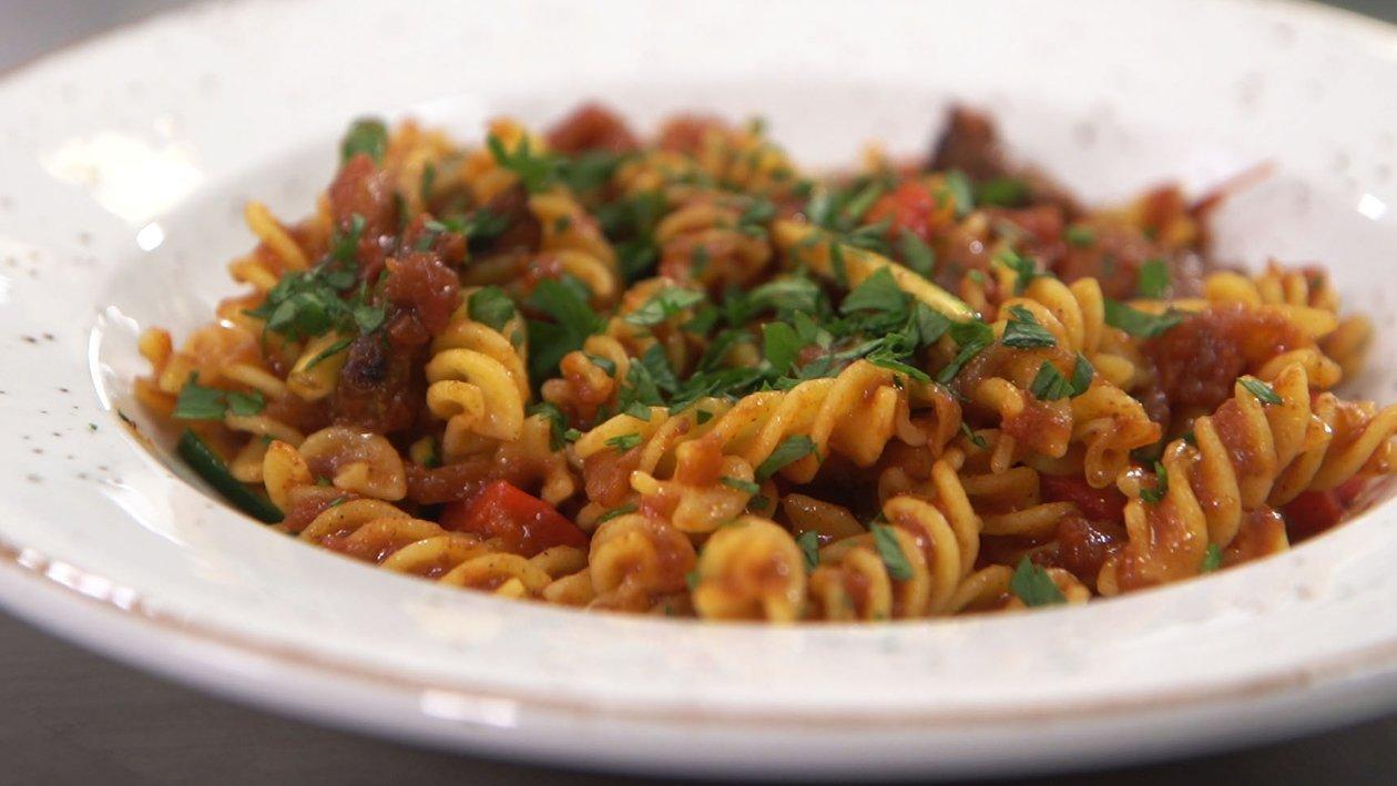 Spicy Napolitana Vegan Pasta