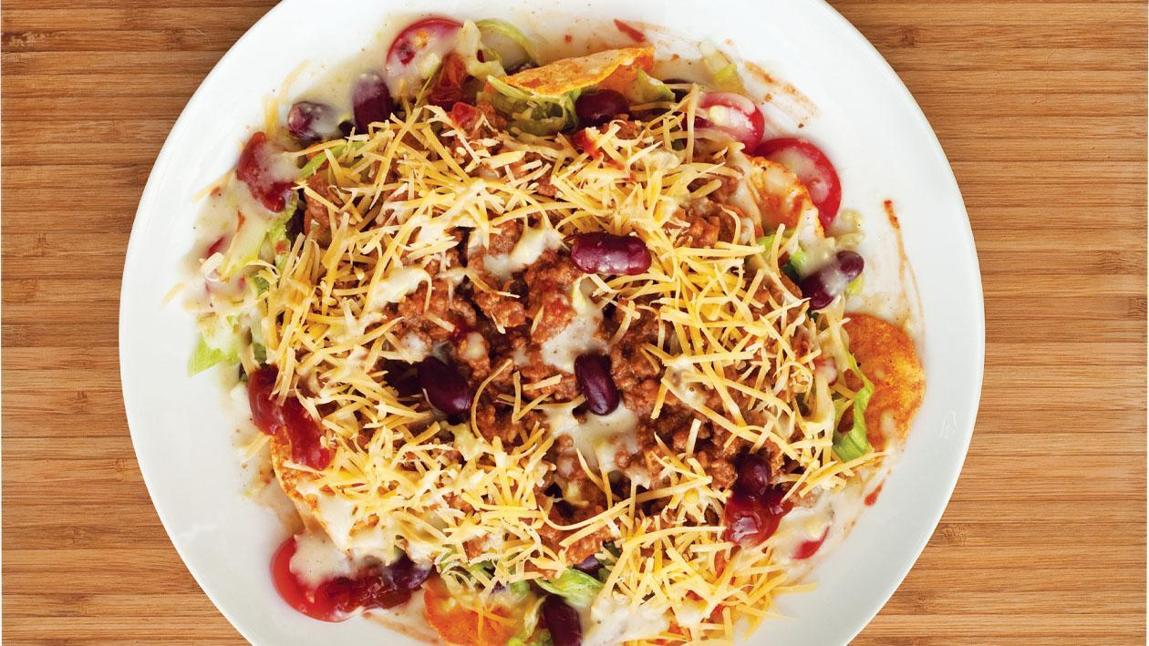 Spicy Ranchy Taco Salad