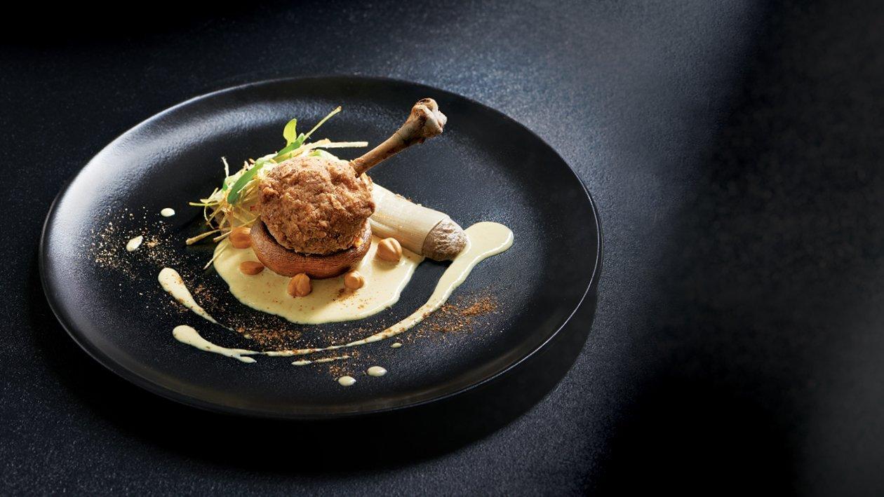 Steak-Spiced Chicken Lollipop