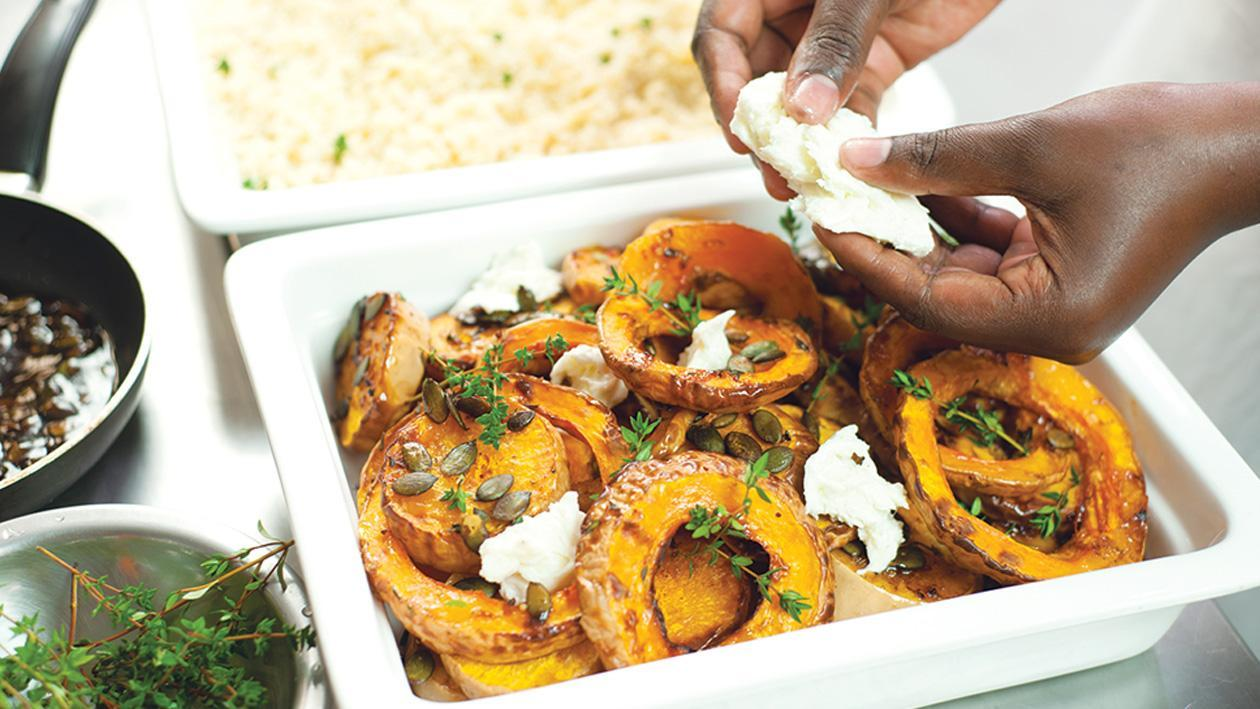 Sweet and Sizzling Butternut with Toasted Pumpkin Seeds