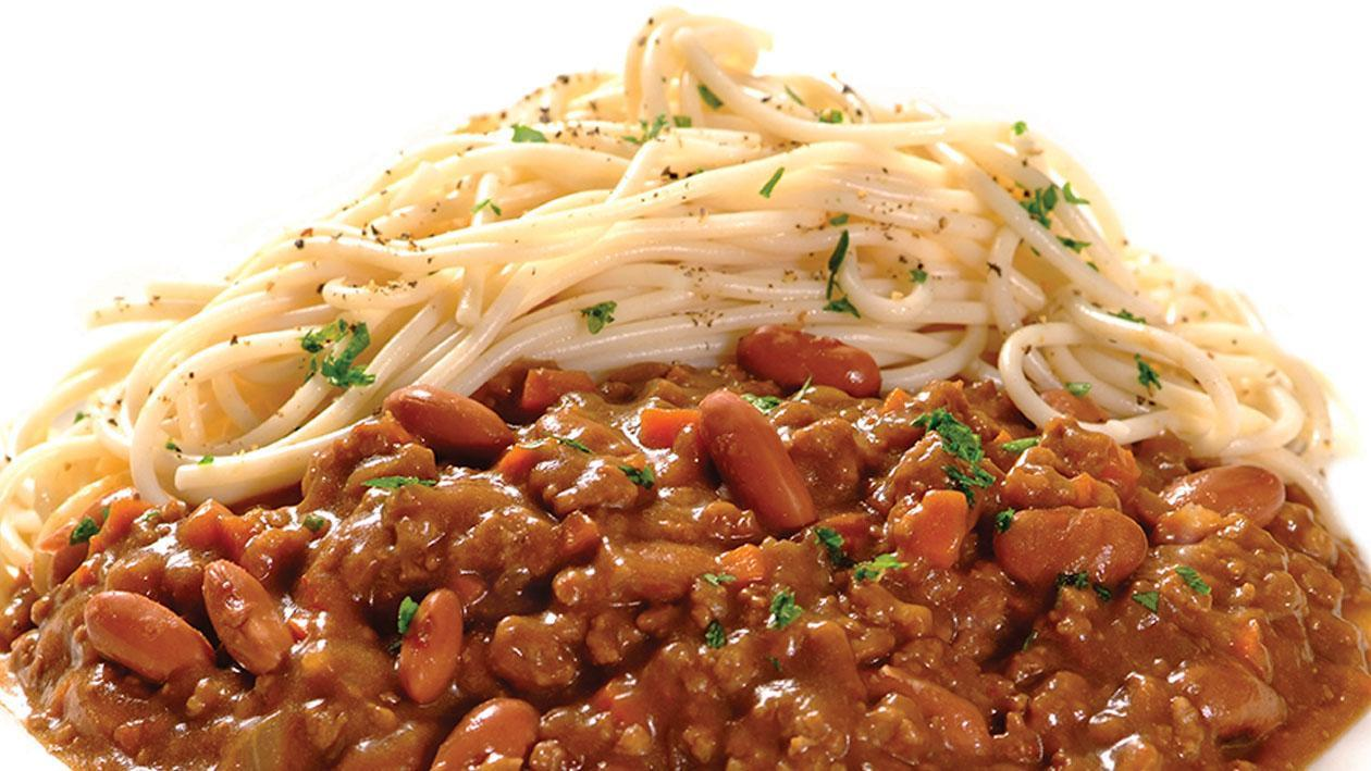 Sweet and Spicy Beef Mince with Kidney Beans