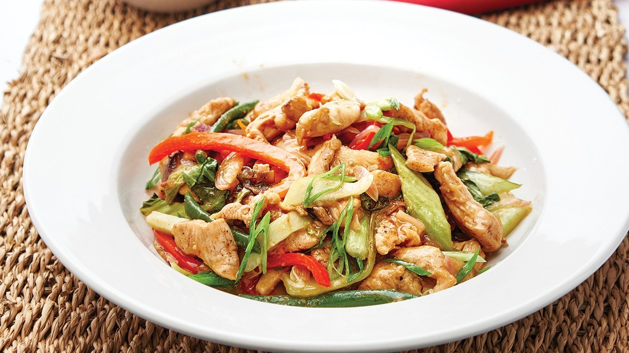 Sweet Chilli Garlic Chicken Stir-Fry