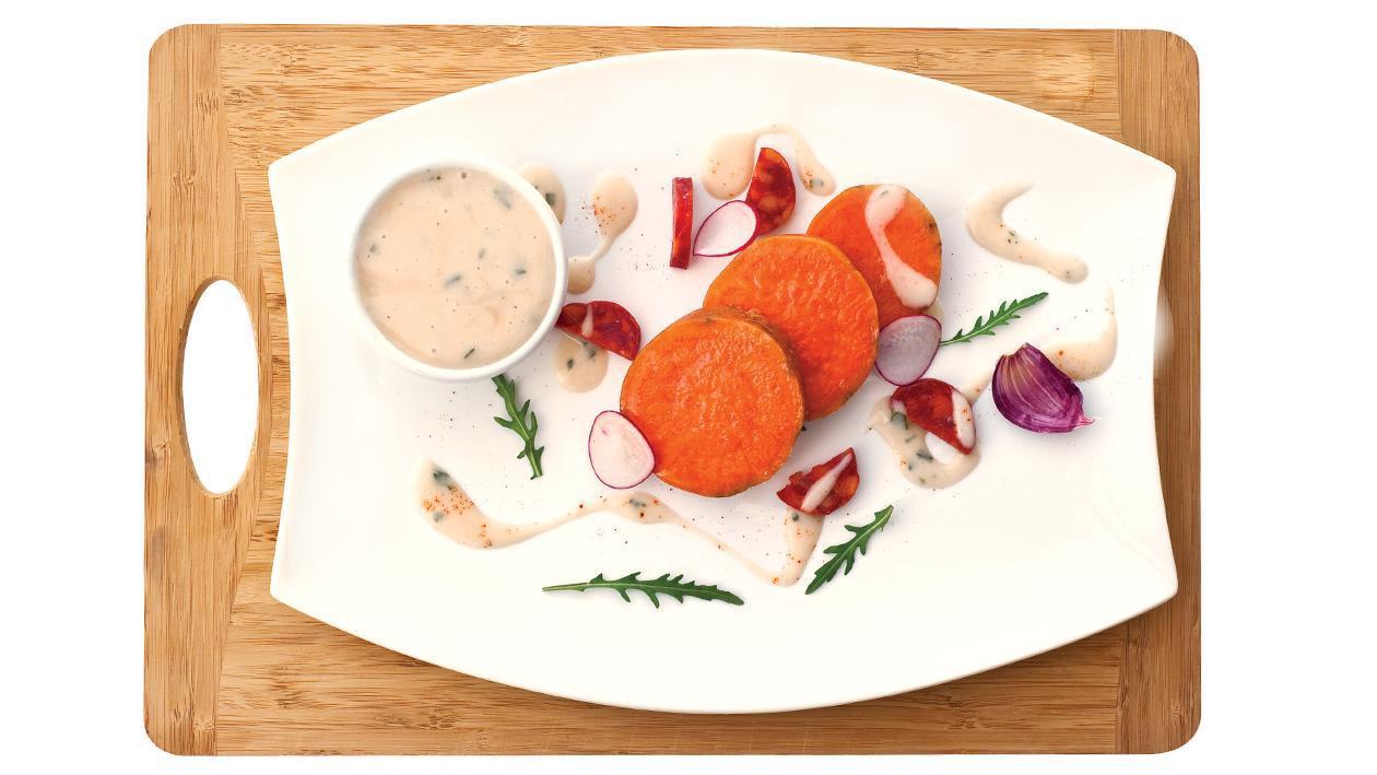 Sweet Potato and Chorizo Salad