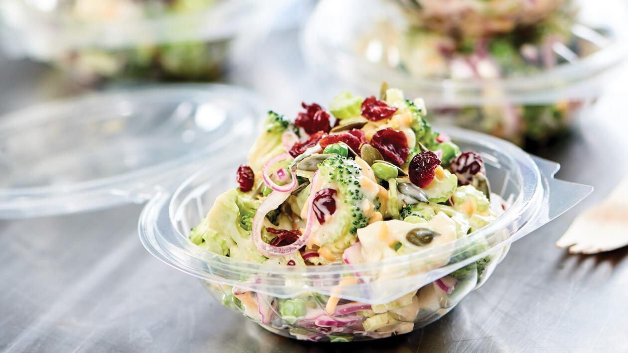 Tangy Veg Floret Salad