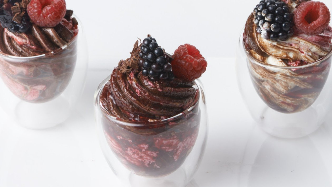The Very Berry Sherry Chocolate Mousse