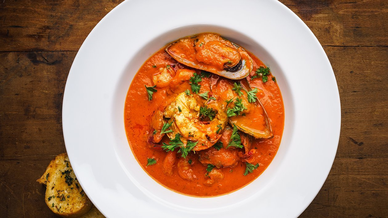 Traditional Ligurian Fish Stew