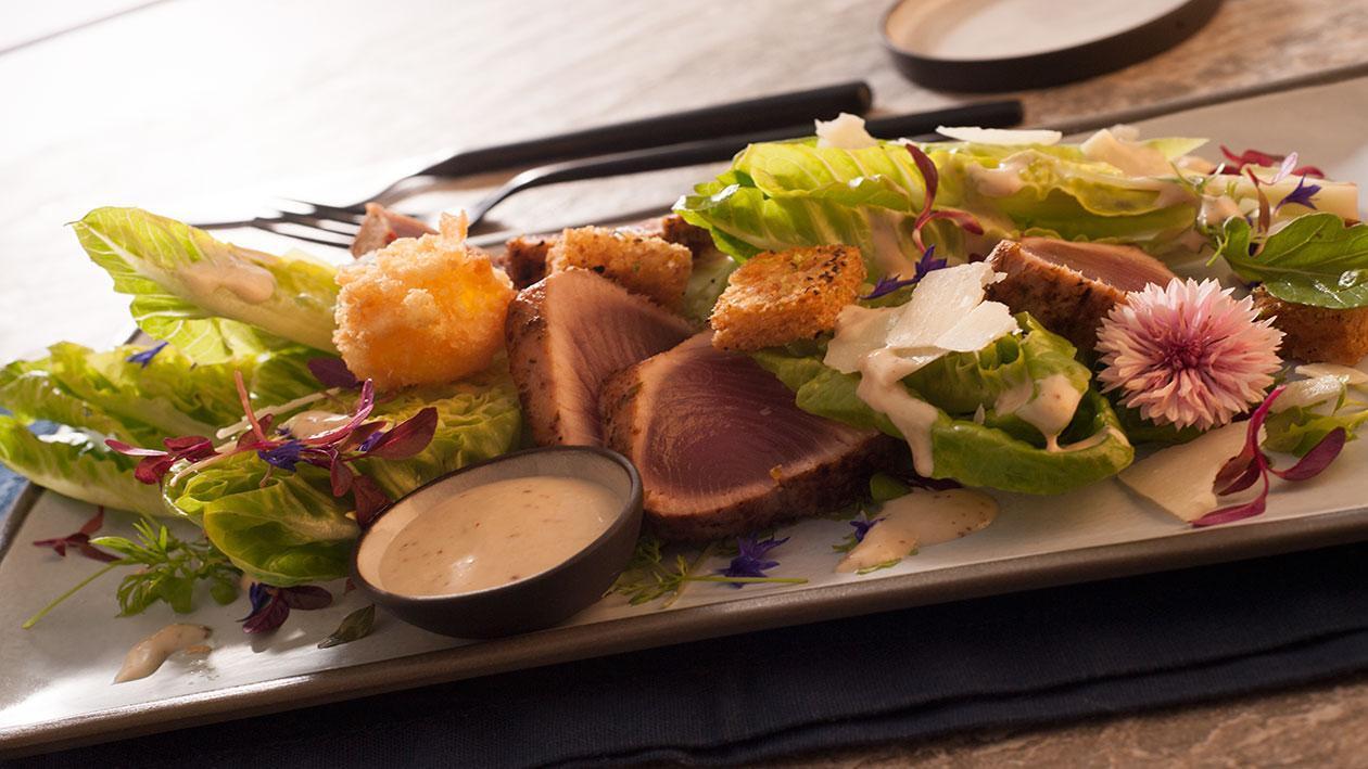 Tuna Caesar Salad