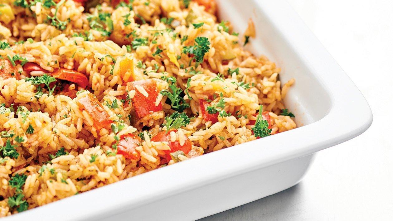 Vegetable Pilaf Rice