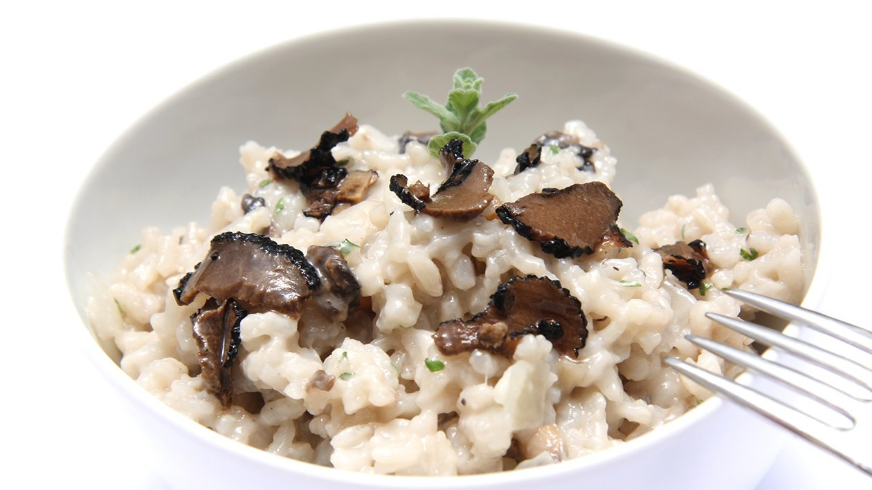 Wild Mushroom Risotto with Truffle