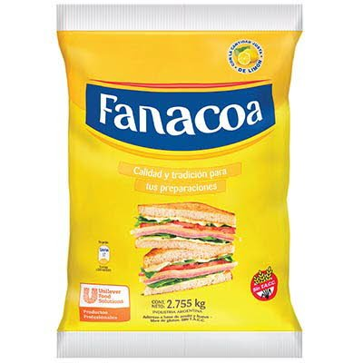 Aderezo a base de aceite y huevo Fanacoa 2.75KG