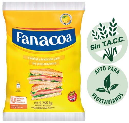 Aderezo a base de aceite y huevo Fanacoa 2.75KG -