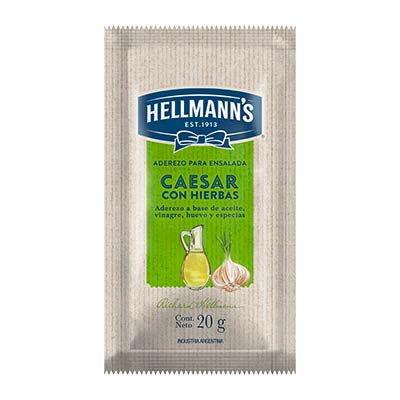 Aderezo Caesar c/hierbas Hellmann´s 20 G (Exclusivo de Argentina y Uruguay)