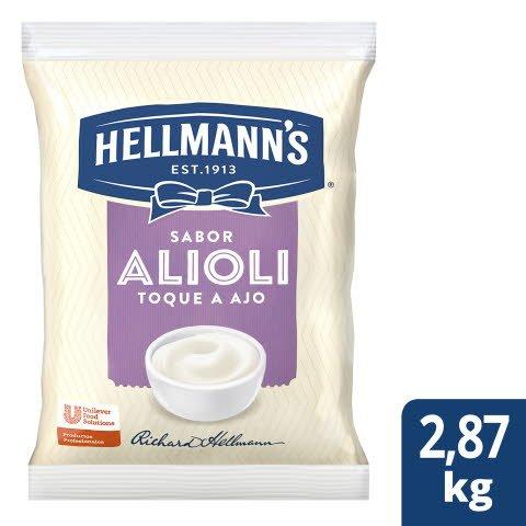 Aderezo Hellmann's Alioli 2,865kg