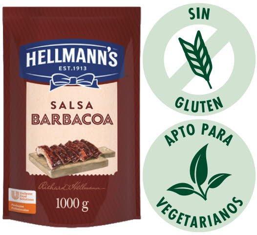 Barbacoa Hellmann´s 1KG (Exclusivode Argentina, Paraguay) -