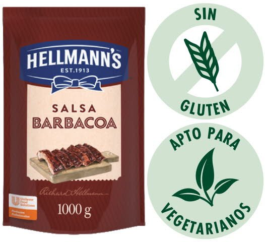 Barbacoa Hellmann´s 1KG (Exclusivode Argentina, Paraguay)