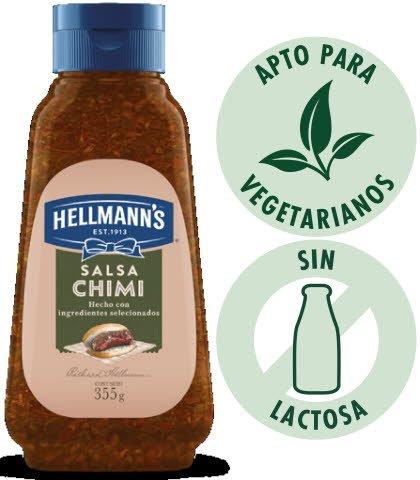 Chimichurri Hellmann's 355 G (Exclusivo de Argentina). -