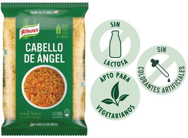 Fideos Cabellos de Angel 500G (Exclusivo de Argentina, Uruguay) -