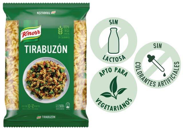 Fideos Tirabuzon Knorr 500G -