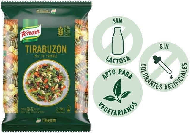 Fideos Tirabuzon Mix Knorr 500G