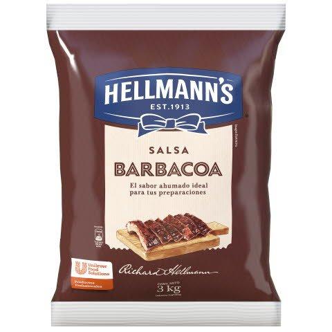 Hellmann's Salsa Barbacoa BLS 3x3KG -