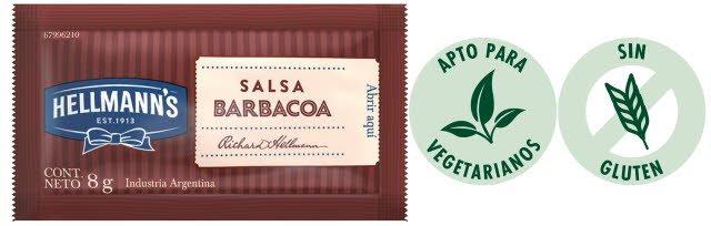 Hellmann's Salsa Barbacoa SCH 196X8G -