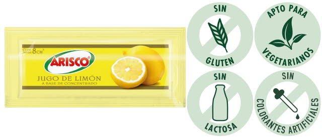 Jugo de Limón Arisco 8G -