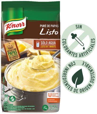 Knorr Puré de Papas Listo 1,25kg