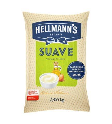 Mayonesa Suave Hellmann´s 2.86 KG (Exclusivo de Argentina, Paraguay)
