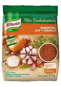 Mix Deshidratado Sabor Pimentón, Ajo y Cebolla