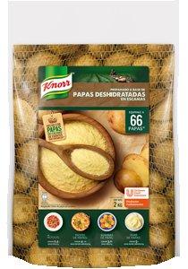 Papas Deshidratadas en escamas Knorr 2 kg