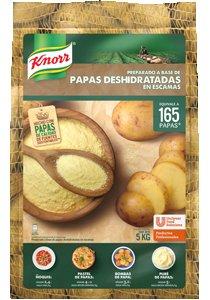 Papas Deshidratadas en escamas Knorr 5 kg