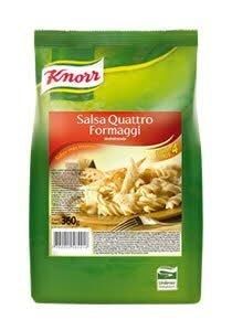 Salsa 4 Formaggi Knorr 360 G